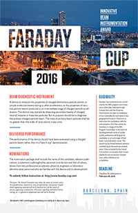 Faraday Cup Poster